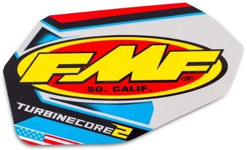 fmf racing turbine core 2 stroke replacement exhaust decal 012699