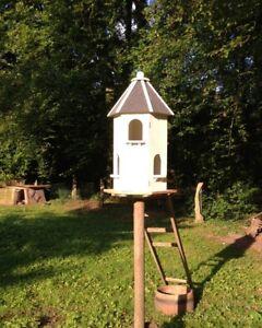 Maison Pigeonnier Mangeoire Pour Pigeons Ebay