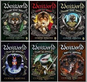 Wereworld Series Collection Set Books 1 6 Paperback By Curtis     Image is loading Wereworld Series Collection Set Books 1 6 Paperback