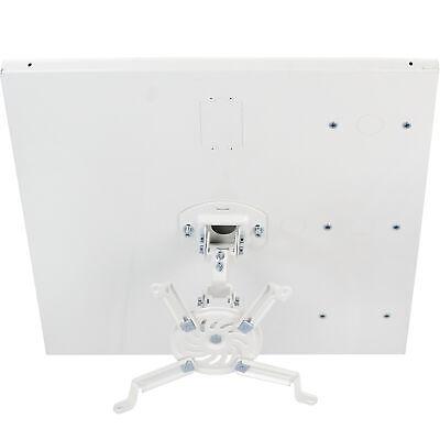 vivo universal white adjustable 2x2 ft drop ceiling projector mount ebay