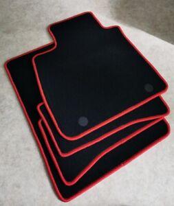 https www ebay fr itm set 4 tapis de sol sur mesure pour renault clio iv 4 velours noir bords rouge 184178924459