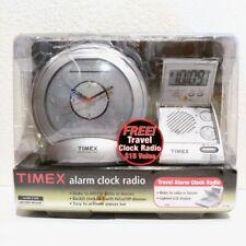 Timex Flip Top Travel Alarm Clock Radio