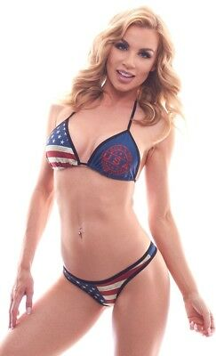 BodyZone-Made-in-the-USA-Print-Tri-Top-and-Made-in-the-USA-Thong-Panty-Set-O-S