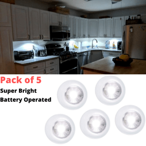 details about under cabinet lighting kit led small battery light inside closet kitchen shelf