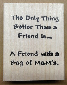 Mounted Rubber Stamps, Friendship Stamps, Friendship ...