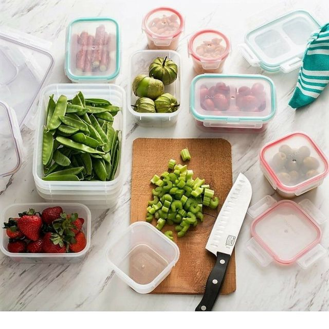 Snapware 24-Piece Airtight Food Storage Containers with Snap Lock Lids, 1108678 2