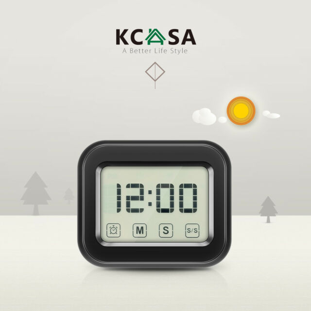 Touch Screen Cooking Timer Alarm Clock