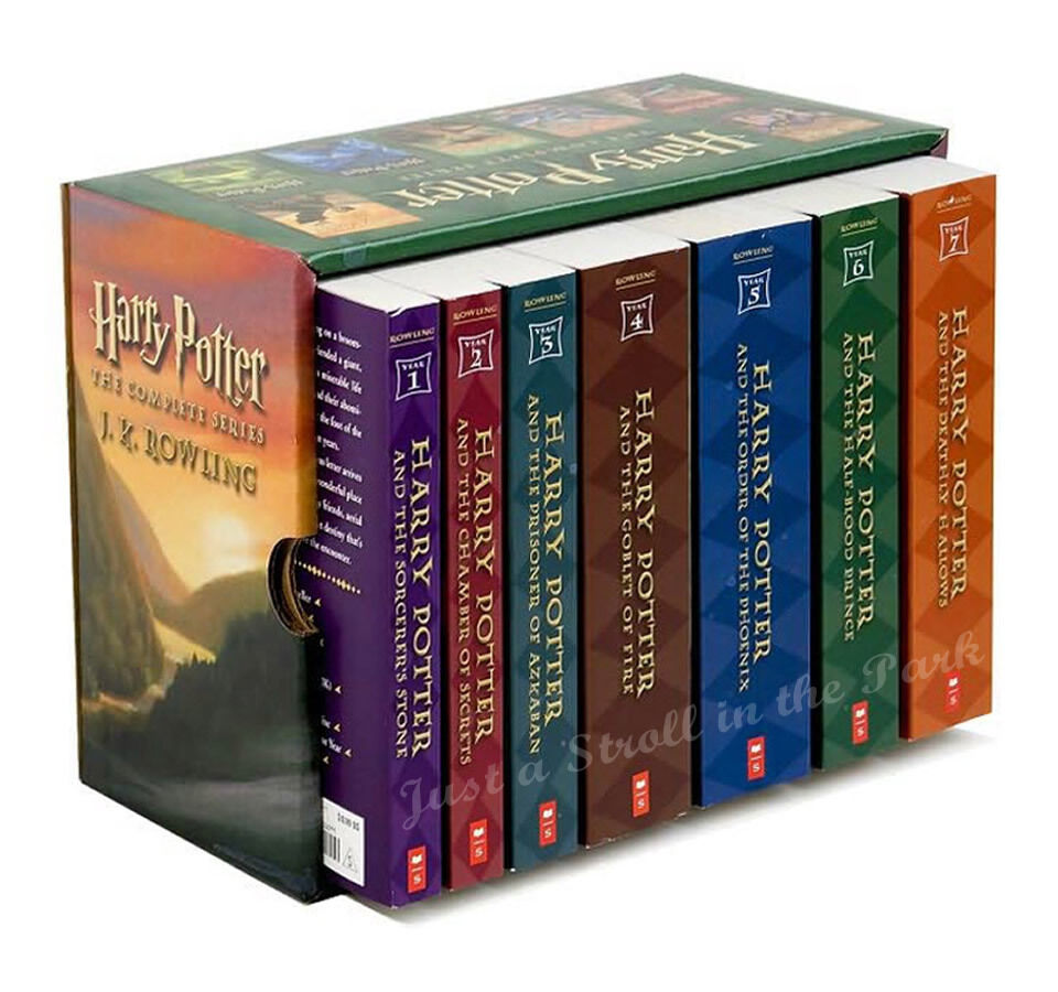 Harry Potter Complete Series Boxed Set Collection JK ...