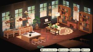 Animal Crossing New Horizons Kitchen/ living room | eBay on Animal Crossing New Horizons Living Room  id=91980