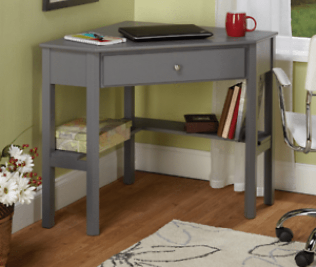 Image Is Loading Small Corner Desk Laptop Computer Writing Home Office