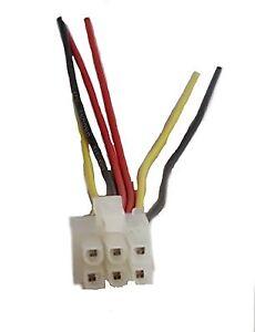 Alpine 6 Pin Wire Harness Plug Era G320 Eq D900 Iva