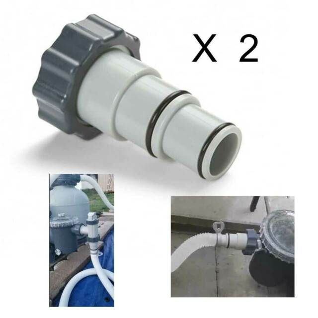 Intex Replacement 2 Hose Adapter Pool