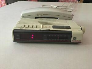 Vintage Ge Telephone Alarm Clock Radio