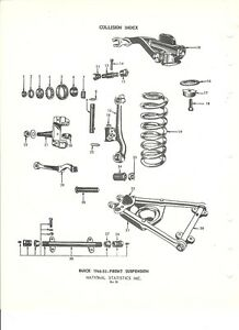 1946 1947 1948 1949 1950 1951 1952 1953 Buick Front Suspension NOS Parts Guide | eBay