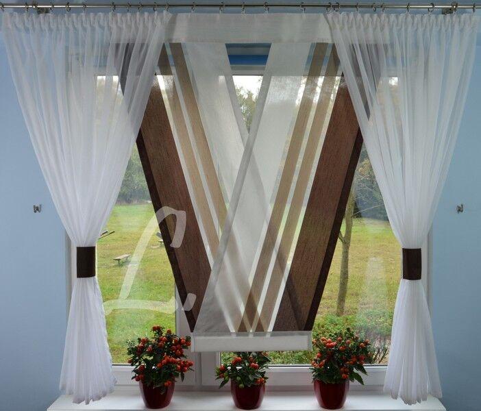details sur neuf moderne rideaux salon decoration pour fenetre braun 120 180 no 655