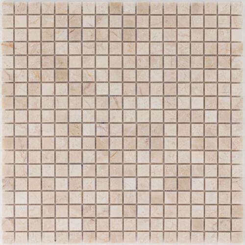 carrelage pierre naturelle mosaique beige creme mur sol cuisine salle de bains wc 10 tapis es 56231 f kozy
