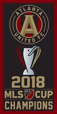 atlanta united replica world champions mls cup champions banner ebay