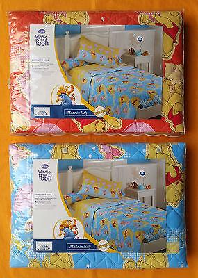 trapunta letto singolo winnie the pooh. Trapuntino Copriletto Trapuntato Winnie Pooh Disney Caleffi 1 Piazza Primaverile Ebay