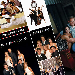 friends tv show posters a4 a3 hd gloss