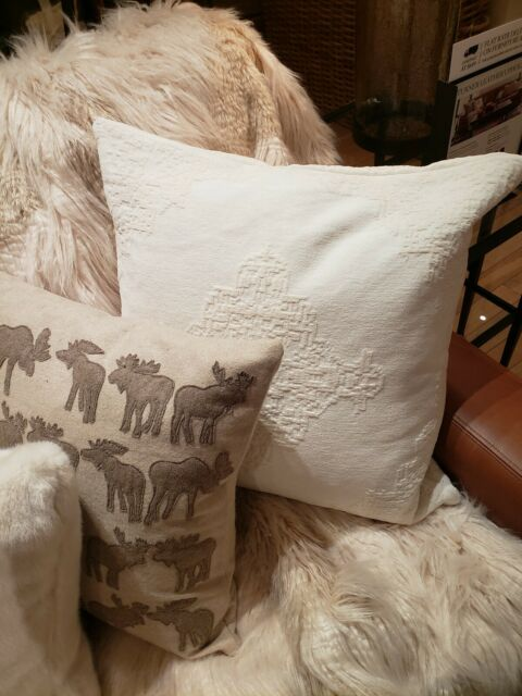 pottery barn ceana pillow cover thistle