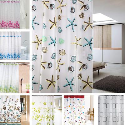 waterproof fabric peva bathroom shower