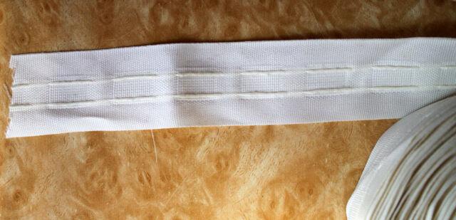 coton beige pour rideau largeur 3 5cm