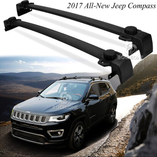 for 2017 2018 all new jeep compass oe style aluminum roof rack cross bar carrier