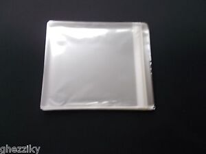 100 RESEALABLE PLASTIC OUTER SLEEVE FOR JAPAN MINI LP CD ...