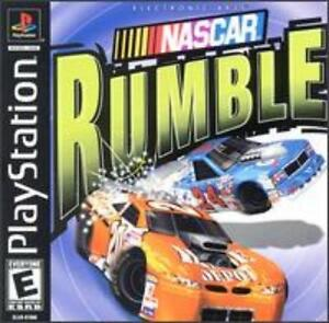 NASCAR Rumble PS1 PS2 PLAYSTATION stock car power-ups racing driving race game! | eBay