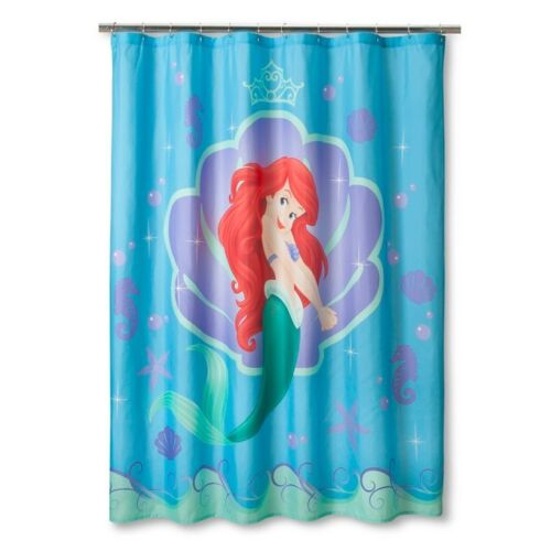 disney princess little mermaid shower curtain holiday gift collectibles housewares