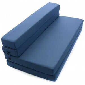 Image Is Loading Milliard Folding Mattress Queen Size Guest Futon Foam