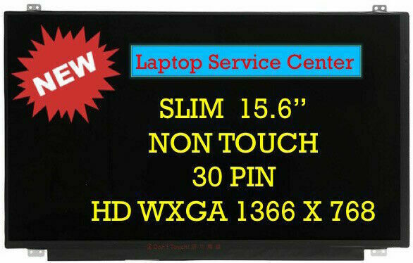 New 15.6″ HD LCD LED Replacement Screen For HP NOTEBOOK 15-f272wm 15-f233wm