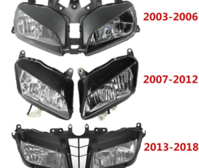 Image Is Loading Front Headlight Light Lamp Assembly For Honda Cbr600rr
