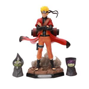 Anime Naruto Shippuden GK Uzumaki Naruto Sage modo Figura de PVC juguete nuevo en caja