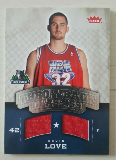 2008-09 Fleer NBA Classics Kevin Love Rookie Memorabilia ...