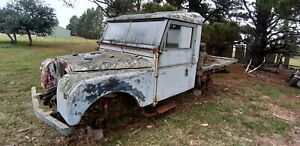 SERIES1 LANDROVER 107 1955 TRAY BACK PROJECT