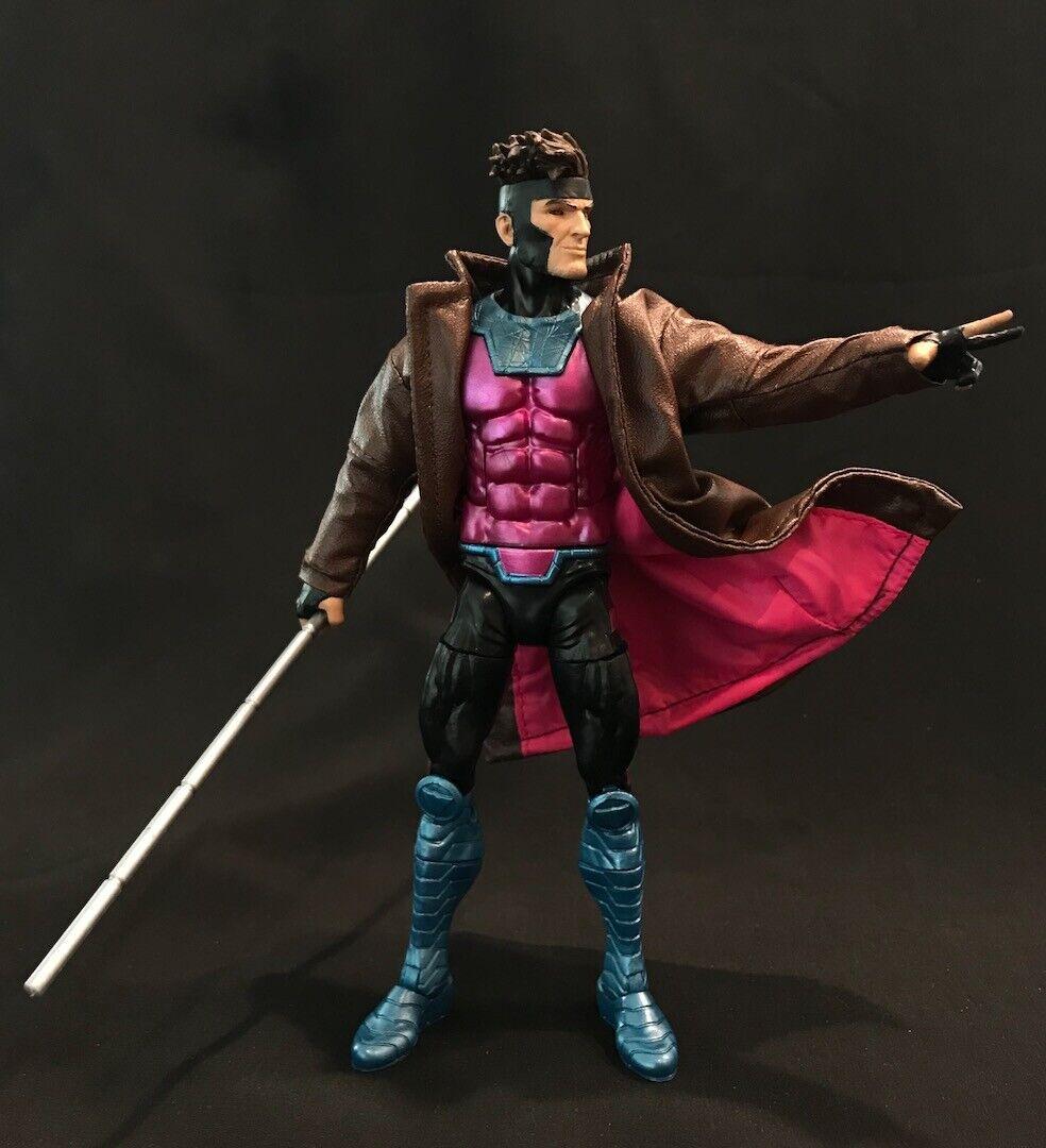 No Figure SU-LTC-BK Marvel Legends 1//12 Black Wired Trench Coat for Mezco