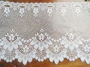details sur brise bise cantonniere rideaux a decor vendu au metre a45