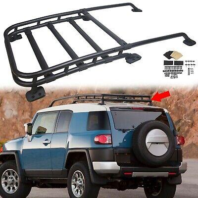 fits 07 14 toyota fj cruiser aluminum roof rack cargo luggage carrier ebay