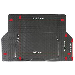 details sur tapis coffre caoutchouc vw golf 1 2 3 4 5 6 7 polo a decouper 140x108cm