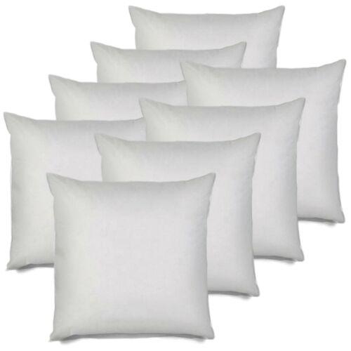 20x20 pillow insert euro sham pillow stuffer square bolster cushion set of 8 home decor indian south asian home decor pillows
