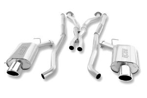 details about 2004 2005 2006 cadillac cts v borla classic cat back exhaust free shipping