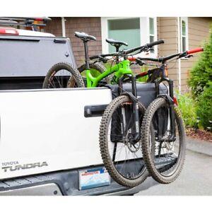 details zu softride halfback 25 truck tailgate shuttle pad 2 bikes all size pickup trucks