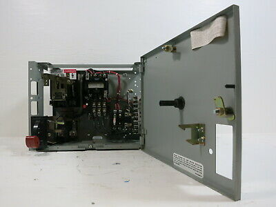 "GE 8000 Size 1 Starter 30 Amp Fusible 12"" FVNR MCC Bucket ..."