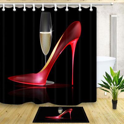71 x71 red high heel shoe waterproof