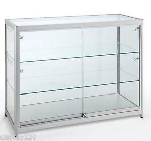 details sur haute classe aluminium verre meuble presentoir boutique till vente comptoir