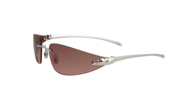 Authentic Cartier PANTHERE Sunglasses T8200632   Pink platinum   eBay NEW CARTIER PINK PANTHER SUNGLASSES T8200632 PLATINUM FRAME PINK LENS FRANCE