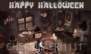 ACN H New Horizons indoor Halloween SPOOKY living room Set ... on New Horizons Living Room  id=51466