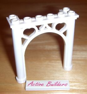 Lego Arch 2 x 6 x 5 Ornament Pillar   Rare   3676 Fabuland Belville     Image is loading Lego Arch 2 x 6 x 5 Ornament
