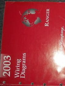 2003 FORD RANGER Electrical Wiring Diagrams Service Shop Repair Manual EWD 03 | eBay